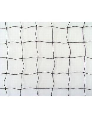 Netz schwarz PE 30 x 30 mm, 1 m breit