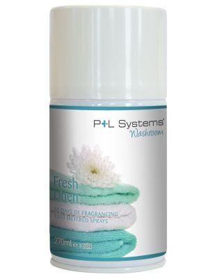P+L Systems®Washroom Fresh Linen, 270ml (167g)