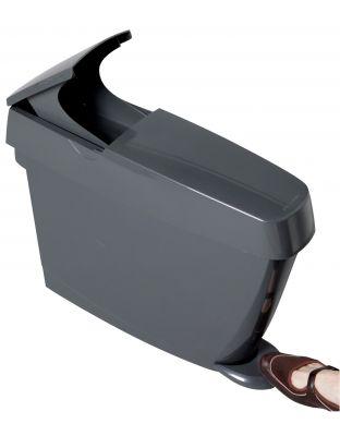 Damenhygienebehälter Sanibin15 Liter, grau