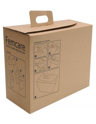 Damenhygienebehälter FINICON Kartoneinsatz-Set