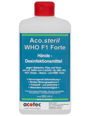 Aco.steril F1 Forte 500 ml Desinfektionsmittel