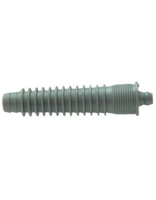 Mauer Injektor 12mm mit Kopf grau