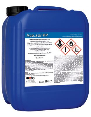 Aco.sol PP 10 Liter