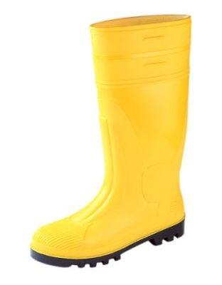 Bausicherheitsstiefel gelb EN 20345/345.S5