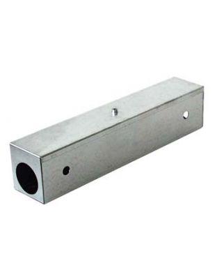 nagtag® Metallköderstation Ratte 40 cm Edelstahl