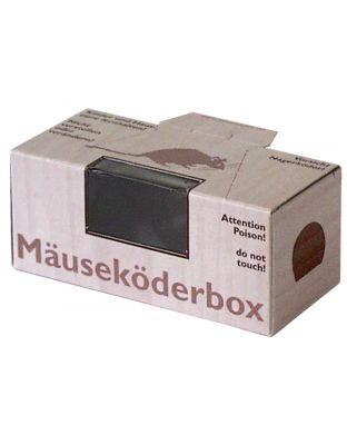 Nagerbox Maus mit Fenster mit Lasche