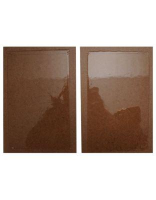 Vebicolla Trap Ratti tavolette professional, Holz 24 cm x 19 cm