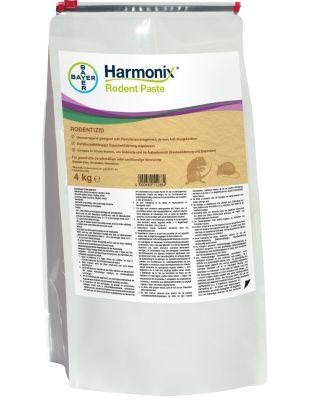 Harmonix® Rodent Paste 2 x 4 kg Ratten- und Mäuseköder, 200 x 20g Pasta