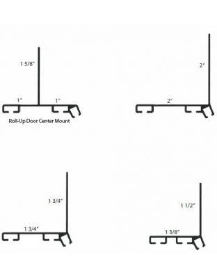 Xcluder™ X2 Türbodenprofil L-Form ohne Klebeband