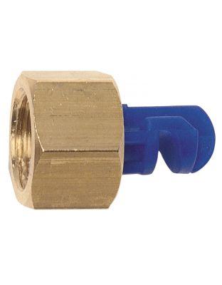 Winkeldüse (Floodjet), 1.6 mm, blau