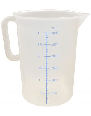 Messbecher 3 Liter