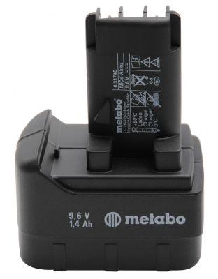 Metabo Ersatzakku 9,6 V/1,4 Ah NiCd