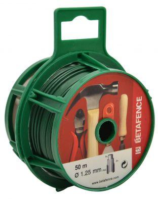 Bindedraht grün 1,25 mm - 50 m Spule