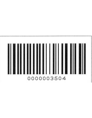 Barcode-Eindruck auf Etiketten