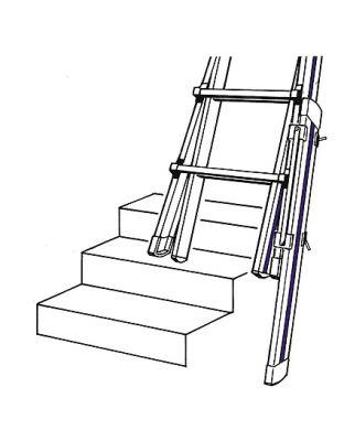Fußverlängerung f. HYMER Teleskopleiter Telestep®