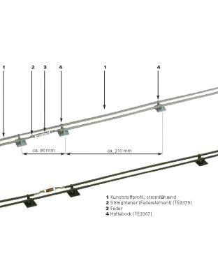 ColumbEx Set HELLGRAU 30 Meter - vorkonfektioniert
