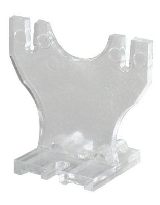 Kunststoffhalter transparent, UV-stabil
