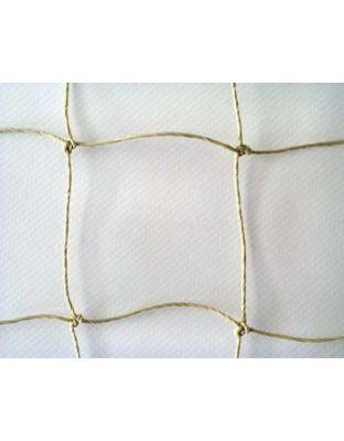 Netz steinfarben PE 50 x 50 mm