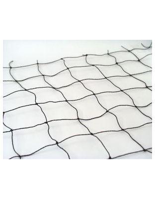 Netz schwarz PE 50 x 50 mm