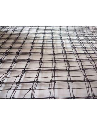 Netz PE monofil schwarz 18 x 18 mm - 600 m²