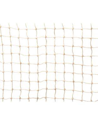 Netz steinfarben PE 20 x 20 mm