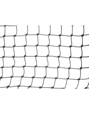 Netz schwarz Polypropylen 20 mm Masche