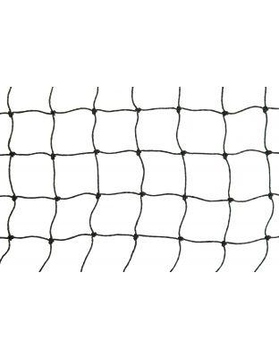 Netz schwarz Polypropylen 30 mm Masche