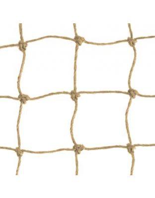 Netz steinfarben Polypropylen 20 mm Masche