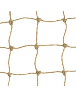 Netz steinfarben Polypropylen 50 mm Masche