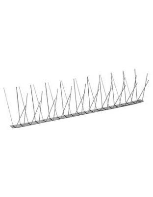 Edelstahlspitzen System 2, 4 reihig, 1 Meter Stücke