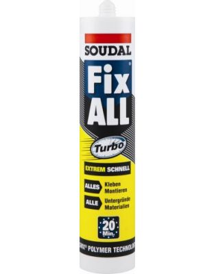 Kleber Fix All Turbo (weiß) Polymerkleber