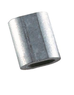 Drahtverbinder Aluminium klein, für 1mm Draht