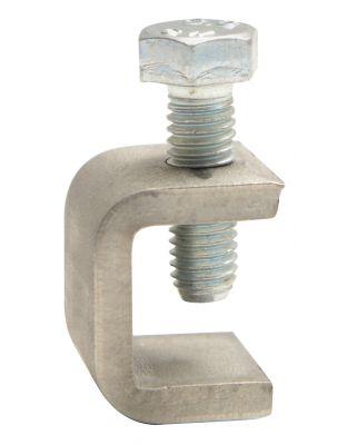 C-Bügelklemme-mini V2A (M5 - 6-kant)